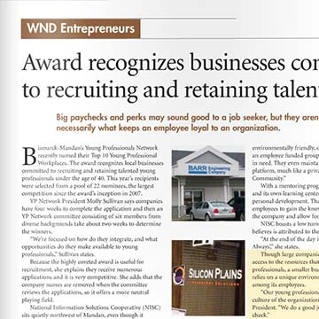 Dan Polk featured as Western ND's Entrepreneur of the Month